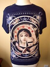 GIVENCHY MADONNA VIRGIN MARY STAR BIRDS OF PARADISE T-SHIRT SZ. M, Tshirt