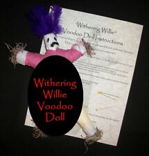 Withering Willie Penis Shrinking Manhood Impotence Voodoo Curse Doll Spell Kit