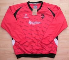 LEICESTERSHIRE FOXES KUKRI ONE DAY 20/20 CRICKET SWEATSHIRT JERSEY XXL ADULT NEW