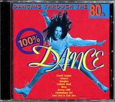 DANCING THROUGH THE 80's - 100% DANCE - CD COMPILATION [733]