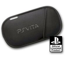 Official SONY Playstation PS VITA Soft Protective Carry Slip Pouch Case NEW VT02