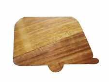 Iroko 'Caravan' Wooden Cheese/Chopping Board.