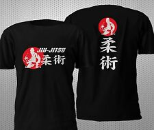 NEW JIU-JITSU BRAZILIAN MMA BOXING JUDO KARATE T SHIRT S-4XL