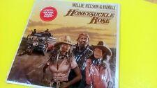 LP 33 rpm vinyl record Willie Nelson  HONEYSUCKLE ROSE ALBUM CBS S2 36752-