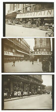3 tirages photo archives Parisien/  magasins de la Samaritaine Paris 1936 mode