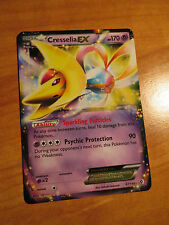 EX Pokemon CRESSELIA EX Card BOUNDARIES CROSSED Set 67/149 Black and White Rare