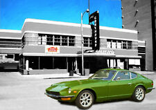 AUTOMOTIVE ART - DATSUN 240Z - HAND FINISHED, LIMITED EDITION (25)