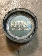 NEW MAYBELLINE COLOR TATTOO 24H CREAM EYESHADOW IN 30 ICY MINT EYESTUDIO LE