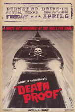 """DEATH PROOF Movie Poster [Licensed-NEW-USA] 27x40"""" Theater Size (Grindhouse) B"""