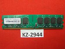 2GB DDR2 RAM Arbeitsspeicher PC 667 PC 5300U SLZ2128M8-J6E #KZ-2944