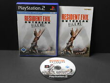 Resident EVIL: Outbreak FILE #2 per PlayStation 2/ps2