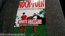 ZZ- REVISTA MAGAZINE ROCK & FOLK Nº411 - WHITE STRIPES - MIOSSEC - OZZY OSBOURNE