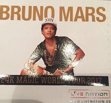 2 x Bruno Mars - 24k Magic World Tour / 10.04.17 Lanxess Arena Köln