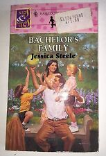 Bachelor's Family by Jessica Steele Harlequin 1995 Paperback