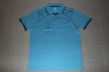 New Authentic Oakley Mens FC Polo Ethereal Blue Rory McIlroy 432537-67R Size M