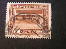 *ITALIAN SOMALILAND, SCOTT # 138, 5c. VALUE 1932 LIGHTHOUSE SCENES ISSUE USED