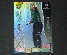 VICTOR VALDES BARCELONA UEFA PANINI FOOTBALL CARD CHAMPIONS LEAGUE 2011 2012