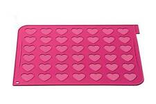 Heart Shape Macaroon Making Silicone Mat by Silikomart + 24 piping bags