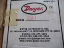 NEW DWYER 603A-1 LED DIFFERENTAL PRESSURE TRANSMITTER