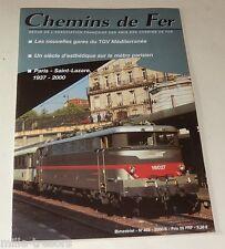 CHEMINS de FER N° 465 de 2000 : Métro parisien - TGV - Gare Saint-Lazare - GB