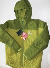 ARC'TERYX Kappa  Hoody Windstopper saguaro green  Men's Large NWT new