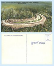 Parking Space Clingman's Dome Great Smoky Mountains National Park Postcard