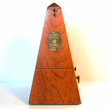 Vintage All Original, Wood Maelzel Metronome by Seth Thomas - Opt. Working Bell
