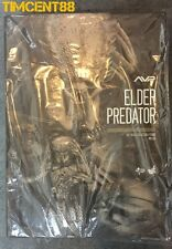 "Ready! Hot Toys MMS325 Alien VS. Predator AVP 1/6 Elder Predator 14"" Figure"