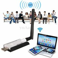 300Mbps Wireless USB WiFi Network LAN Card Dongle Adapter 802.11b/g/n + Antenna