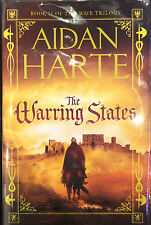 The Warring States Limited Edition 1st Print Hardback Signed by Aiden Harte