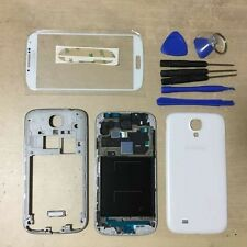Full Housing Case Cover + Screen Glass For Samsung Galaxy S4 ATT I337 M919 White
