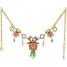 Lunch At The Ritz Leading Lady Necklace - Pastel Multi From Esme's Collection