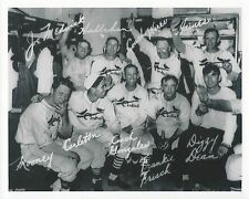 GAS HOUSE GANG 8X10 PHOTO ST. LOUIS CARDINALS BASEBALL MLB PICTURE