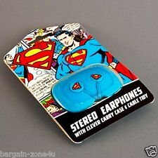Superman Stereo Earphones Earpods Kids Headset Phone Speakers Headphones