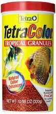 TETRA COLOR BITS TROPICAL GRANULES 10.58 OZ  FISH FOOD TETRACOLOR FREE SHIP USA