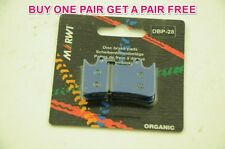 MARWI UNION ORGANIC DISC BRAKE PADS FOR HOPE MONO 6-POT CALIPERS 1+1 FREE DBP-28
