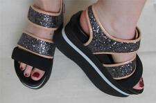 Marni Sparkle Platform Shoes Runway Spring 2014 Sz 37/US 7 Ex. Con. Birkenstock
