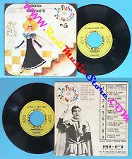LP 45 7'' MAGO ZURLI' Cenerentola L'ammazzasette 1964 italy FIABE no cd mc vhs