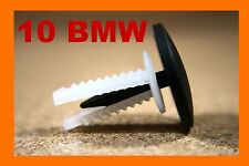 10 BMW bonnet hood boot trunk sound insulation fasteners clips 3 5 7 series