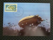 Mónaco Mk 1962 Submarine Uboat diver maximum tarjeta Carte maximum card mc cm 9761