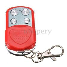 Universal Cloning Remote Control Key Fob for Car Garage Door Gate 433.92MHZ Red