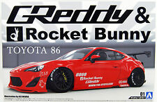 Aoshima 50934 ZN6 TOYOTA 86 Greddy & Rocket Bunny Enkei Ver. 1/24 scale kit