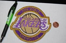"Los Angeles Lakers 2009 World Champions 5"" Logo Patch Basketball"