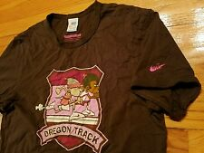 *ULTRA RARE* NIKE OREGON TRACK CLUB Shirt Mens L retro running ducks pre run pro