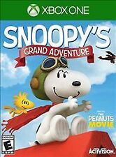Peanuts Movie: Snoopy's Grand Adventure (Microsoft Xbox One, 2015)