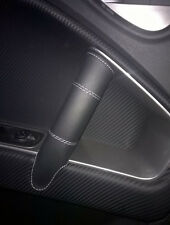 ALFA ROMEO MITO Cover in Vera Pelle Leather nera x maniglie interne Dx e Sx