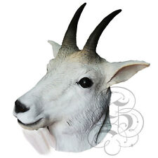 Latex Full Head Animal Mountain Goat Popular Fancy Dress Up Carnival Party Masks