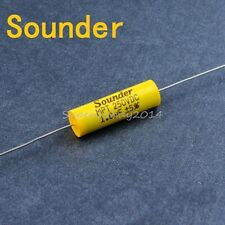 1x Sounder 1.0uf/250V Axial Non Polar Capacitor Speaker Divider Capacitive