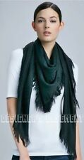 "GUCCI green/navy SURVIE GG Diamante Giant 55"" PASHMINA shawl scarf NWT Authentic"