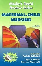 Mosby's Rapid Review Series: Maternal-Child Nursing (Book with CD-ROM -ExLibrary